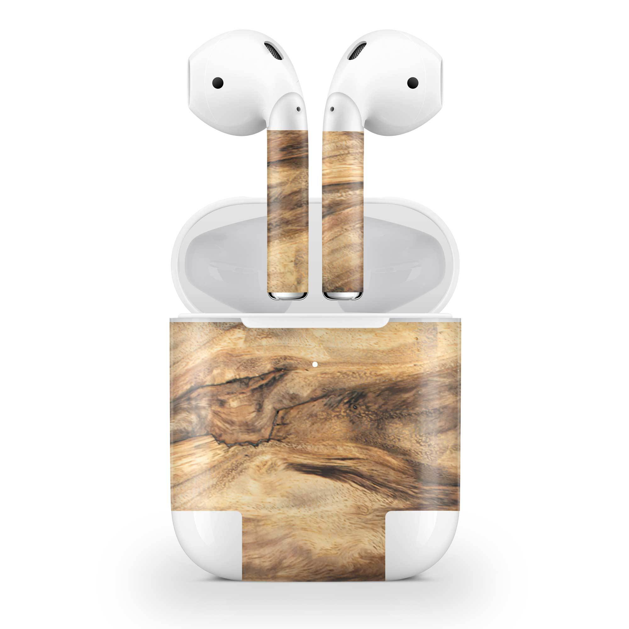 Wood AirPods (Wireless Charging) Skin