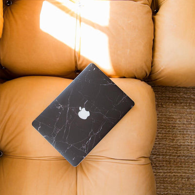 Black Marble MacBook Case + Skin for Air 11-inch