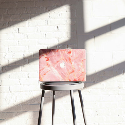 Blush Marble MacBook Case + Skin for Pro 13-inch (2020)