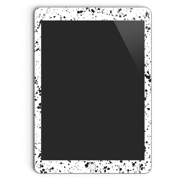 Brooklyn Speckle iPad Air Skin in White