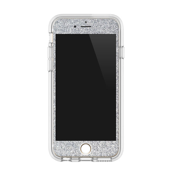 Glitter iPhone Case in Silver