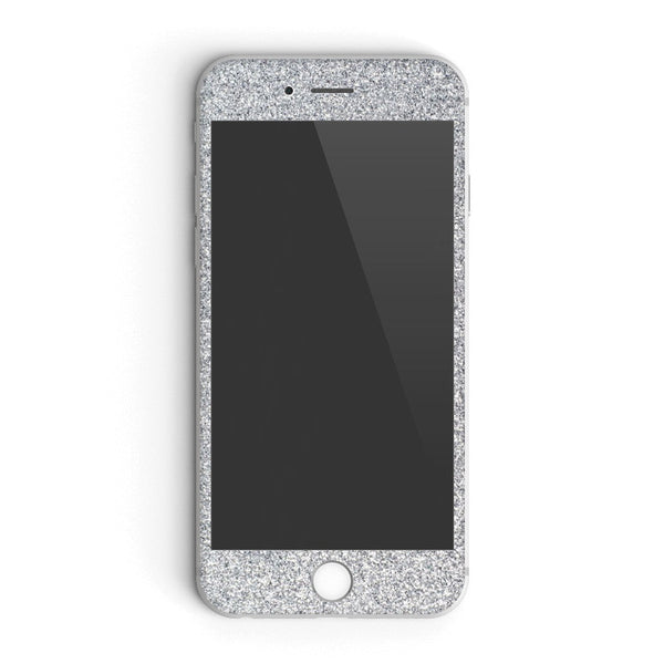Silver Glitter iPhone Case