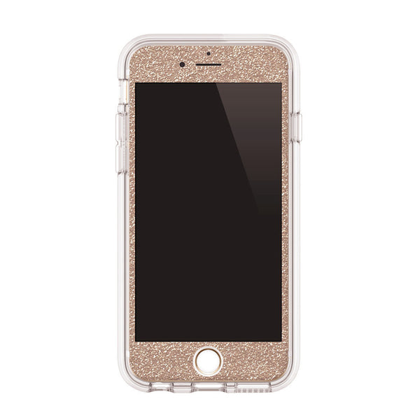 iPhone Case in Champagne Glitter