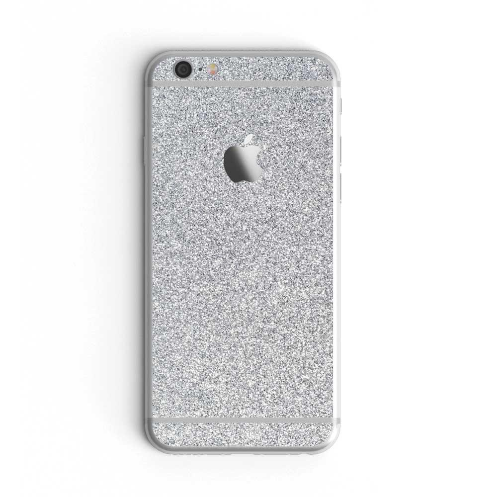 Blanc Glitter iPhone 7 Skin + Case