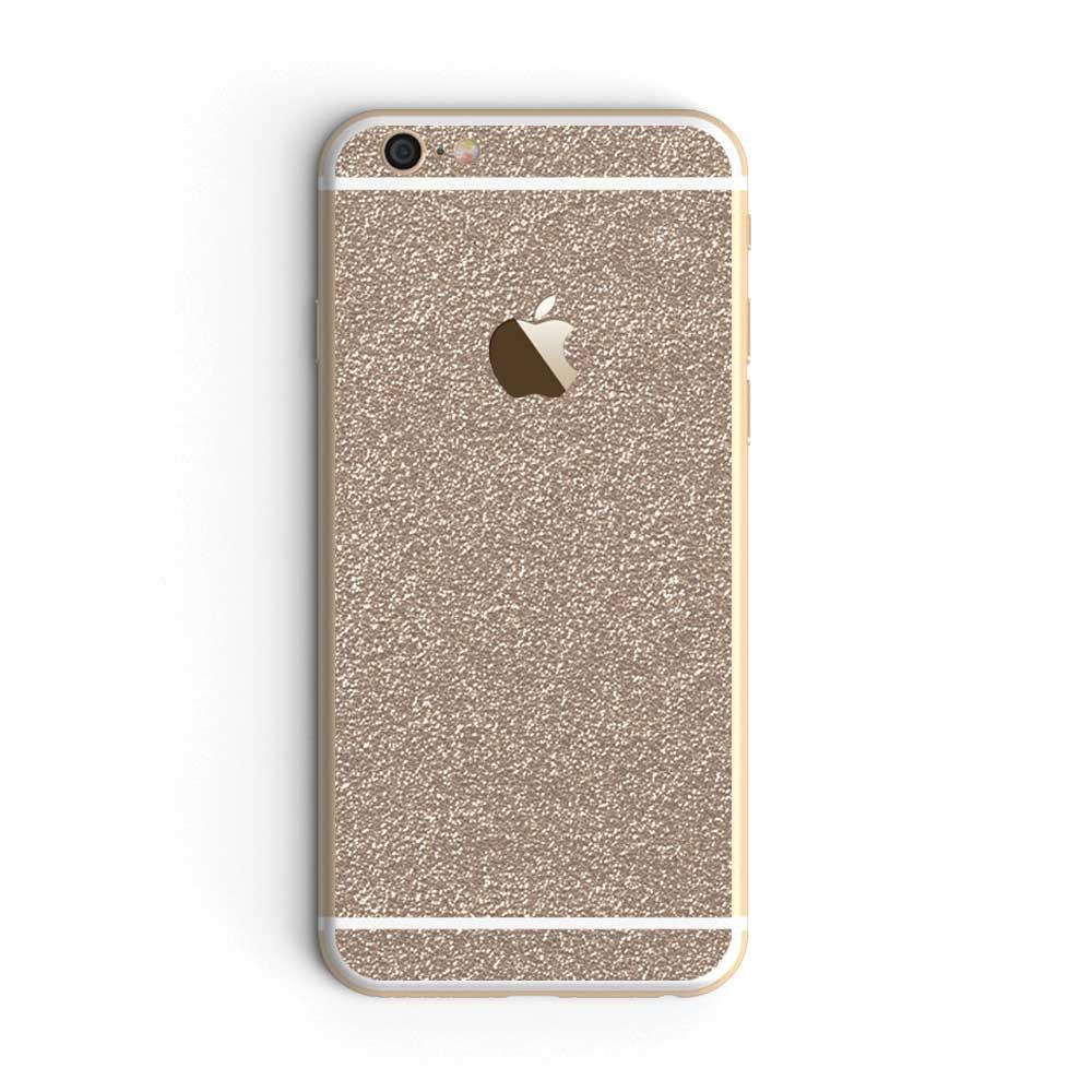 Rosé Glitter iPhone 8 Skin + Case