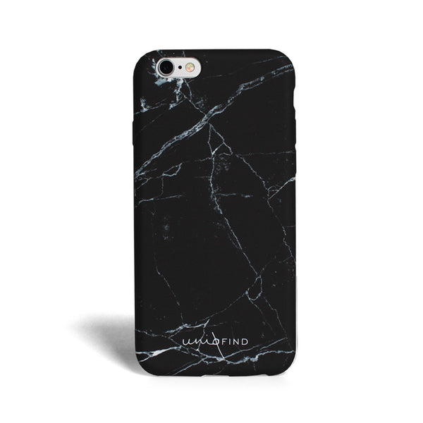 iPhone Black Marble Case