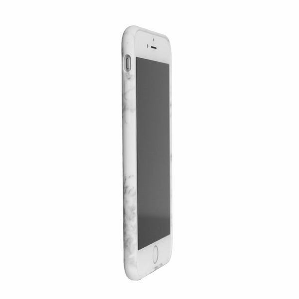 iPhone White Marble Case