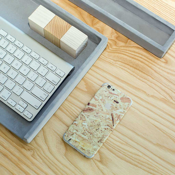 Plywood iPhone Skin + Case