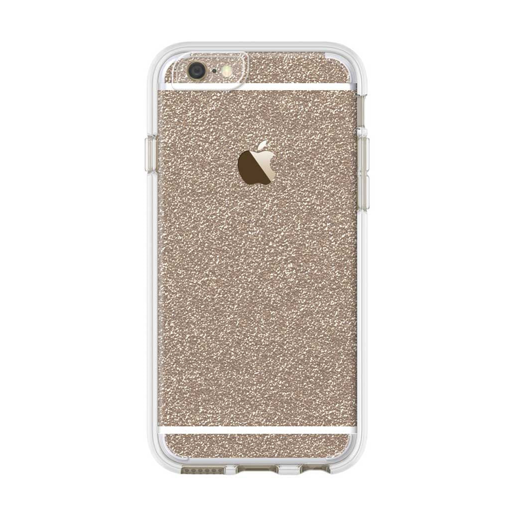 Rose Glitter Iphone Skin Case Uniqfind