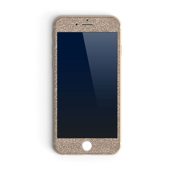 Glitter iPhone in Champagne
