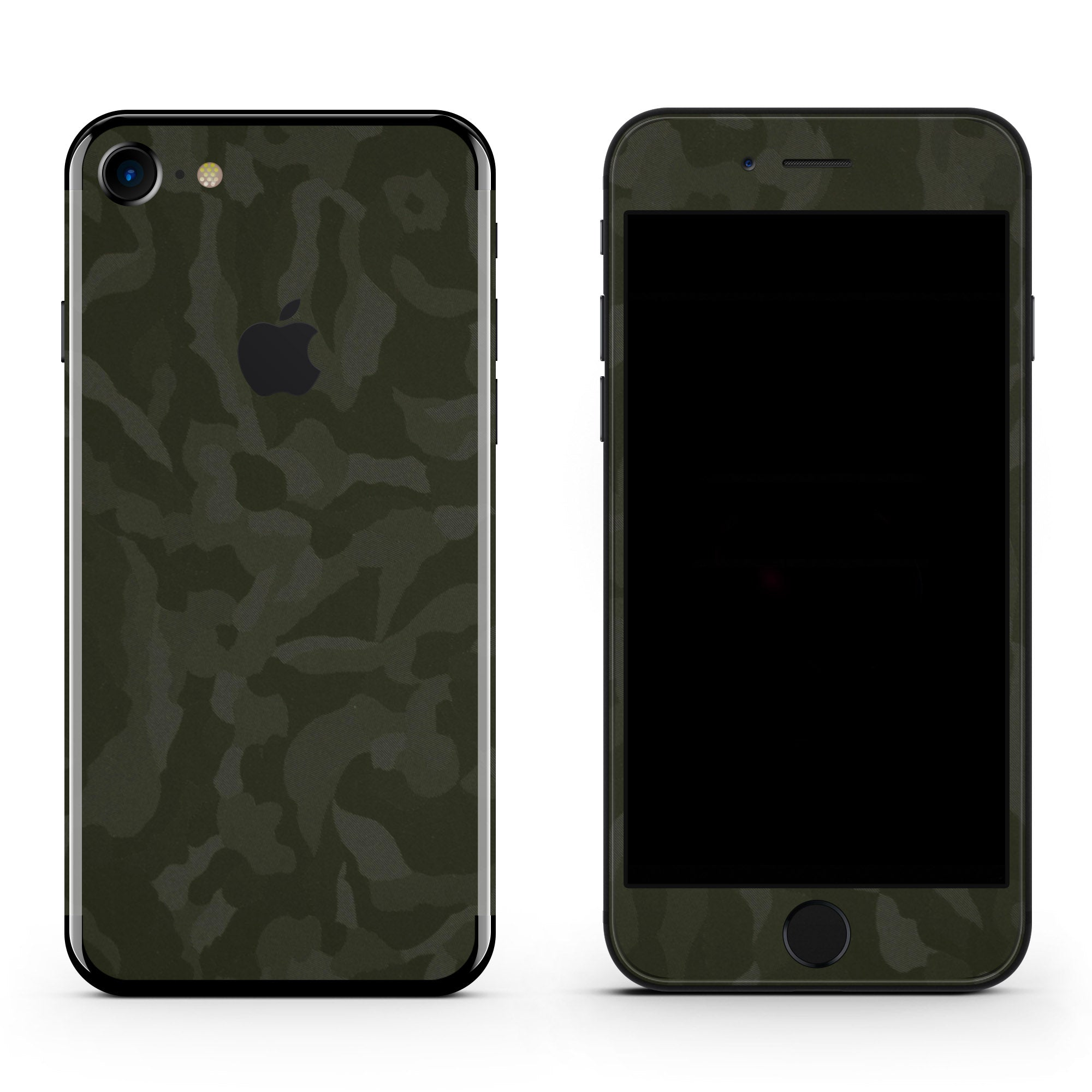 Green Camo iPhone 8 Plus Skin + Case