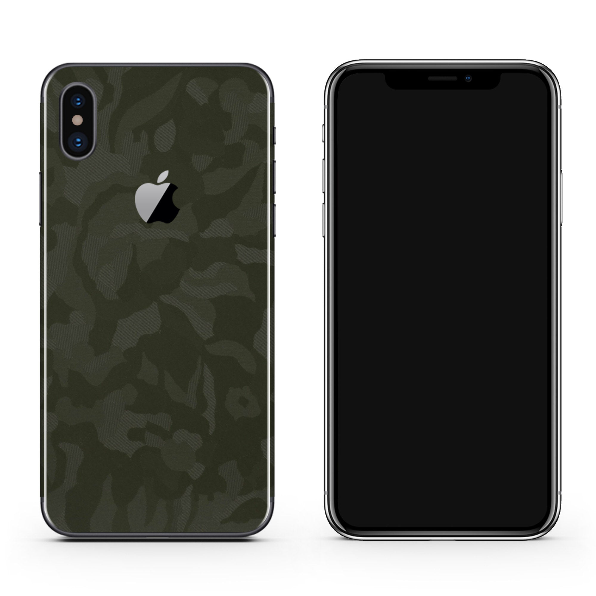 Green Camo iPhone XS Max Skin + Case