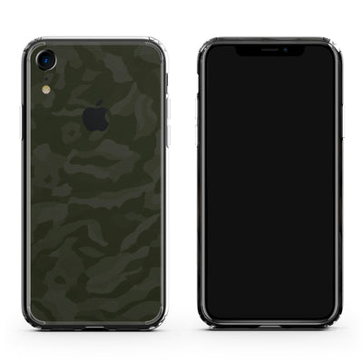 Green Camo iPhone XR Skin + Case