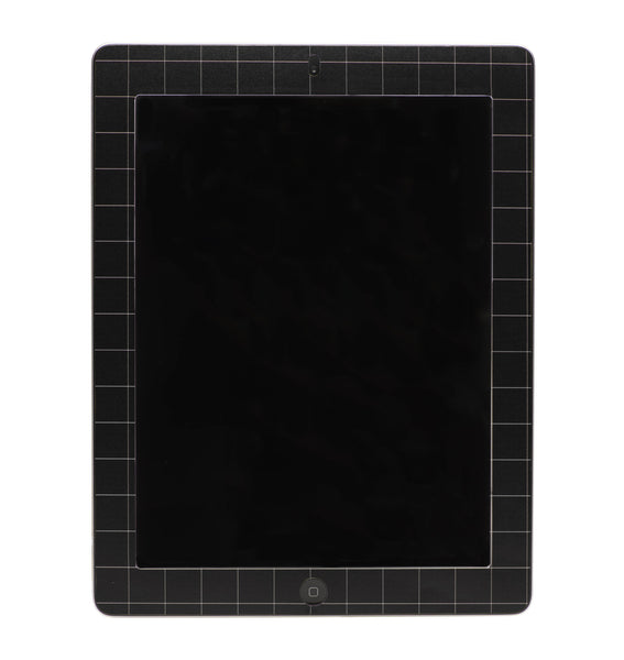 Grid Print iPad Sticker