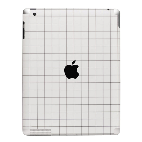 Grid Print iPad Case