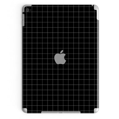 iPad Cover Pro 12.9-inch (2nd Gen, 2017) in Black Grid
