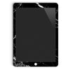 iPad Skin Pro 12.9-inch (2nd Gen, 2017) in Black Hyper Marble
