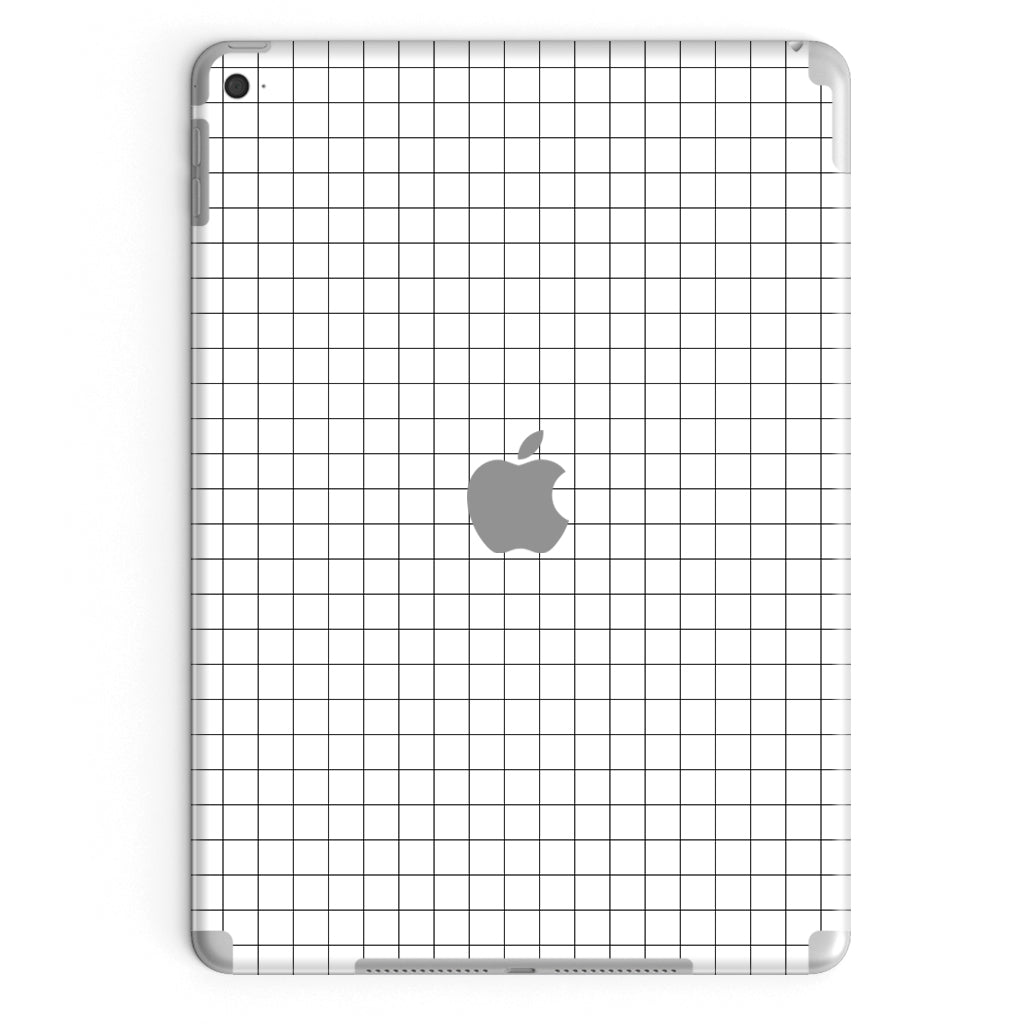 iPad Cover Air 3 (2019) in White Grid