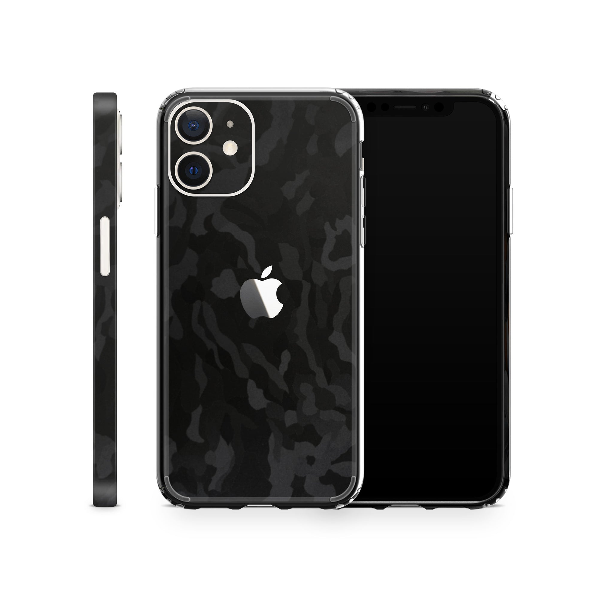 iPhone Case 12 Mini Black Camo