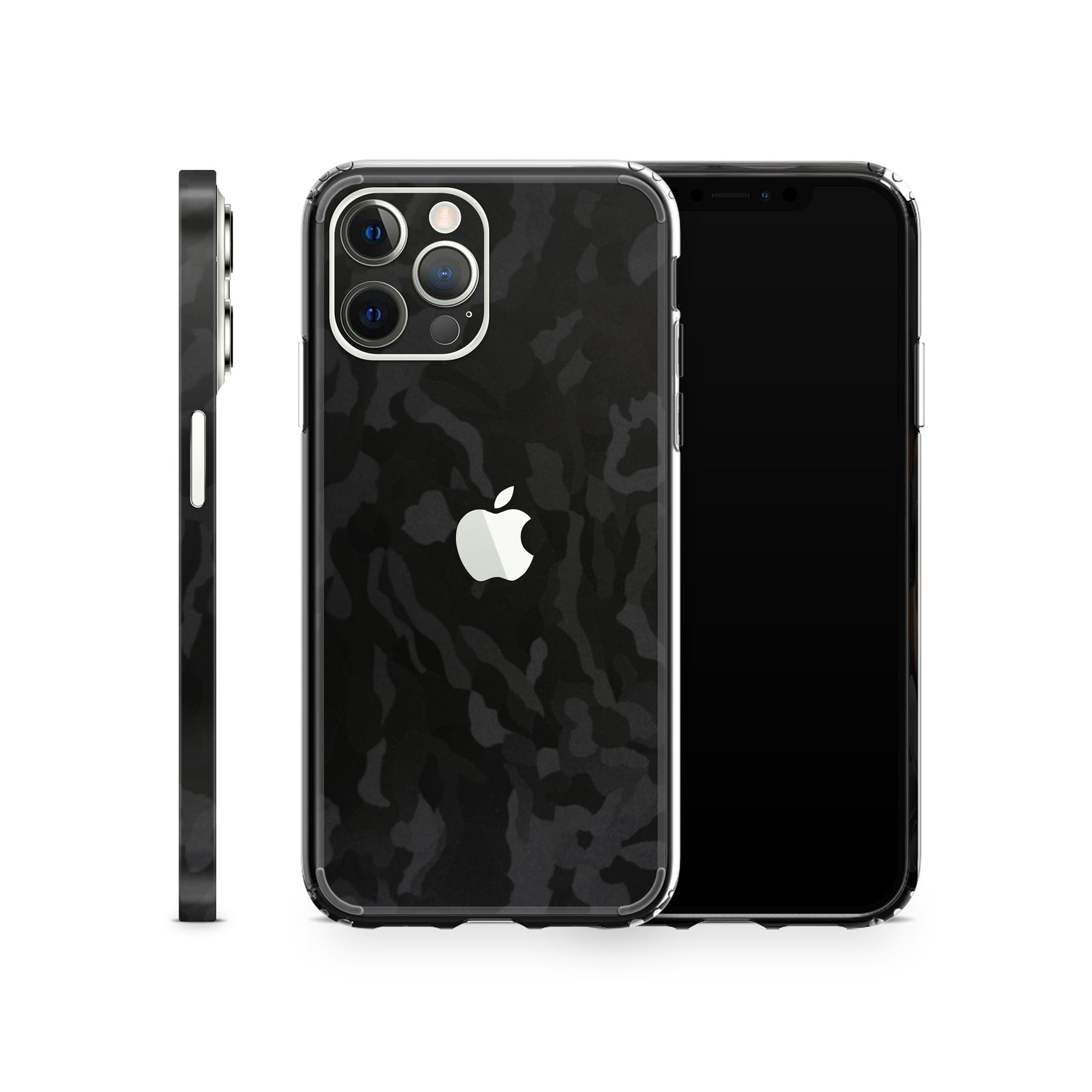 iPhone Case 12 Pro Black Camo