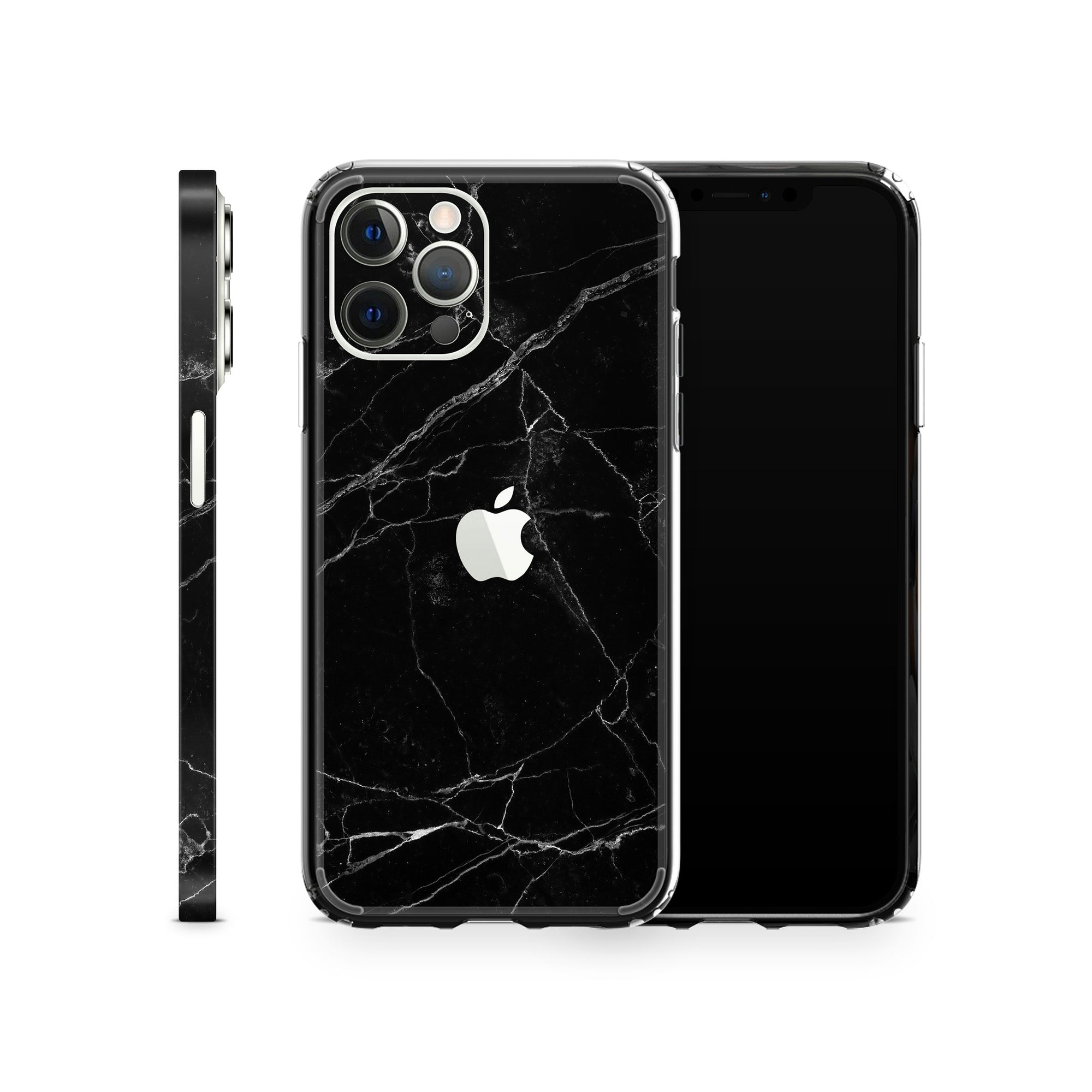 iPhone Case 12 Pro Max Black Marble