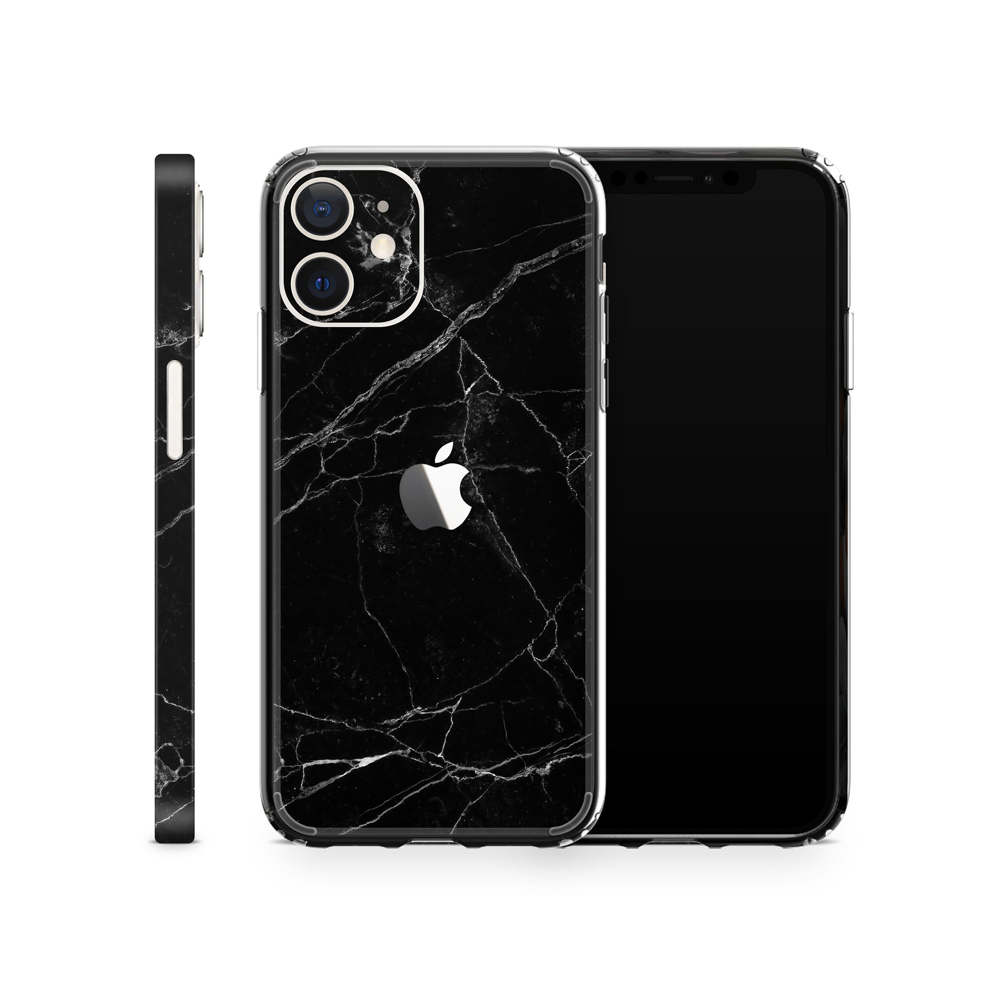 iPhone Case 12 Black Marble