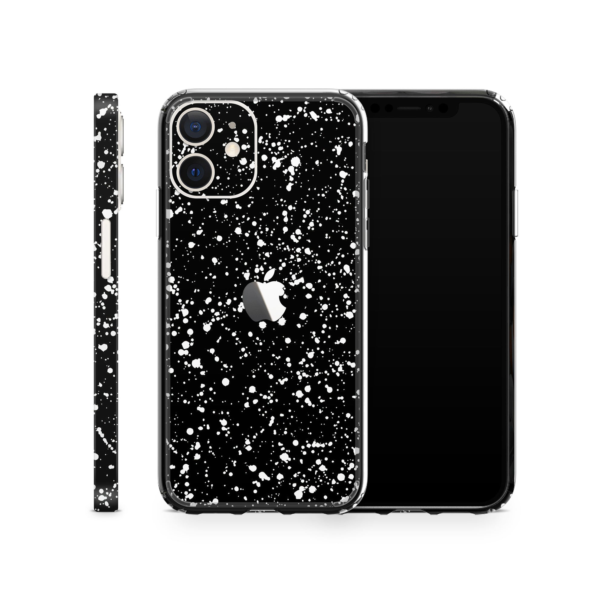 iPhone Case 12 Mini Black Speckle
