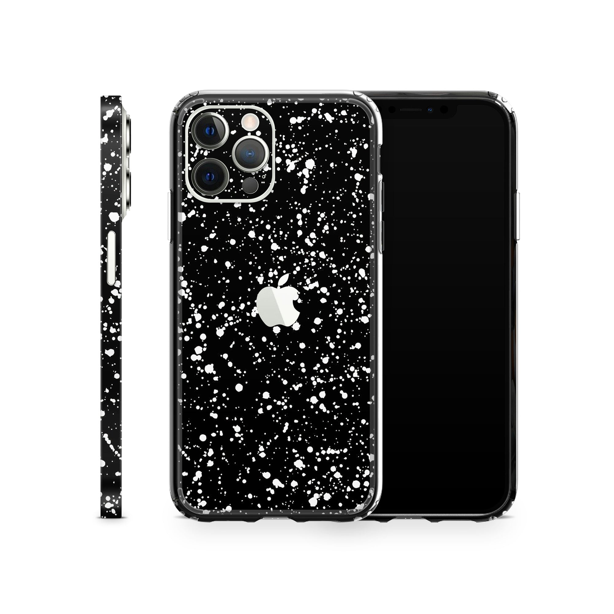 iPhone Case 12 Pro Black Speckle