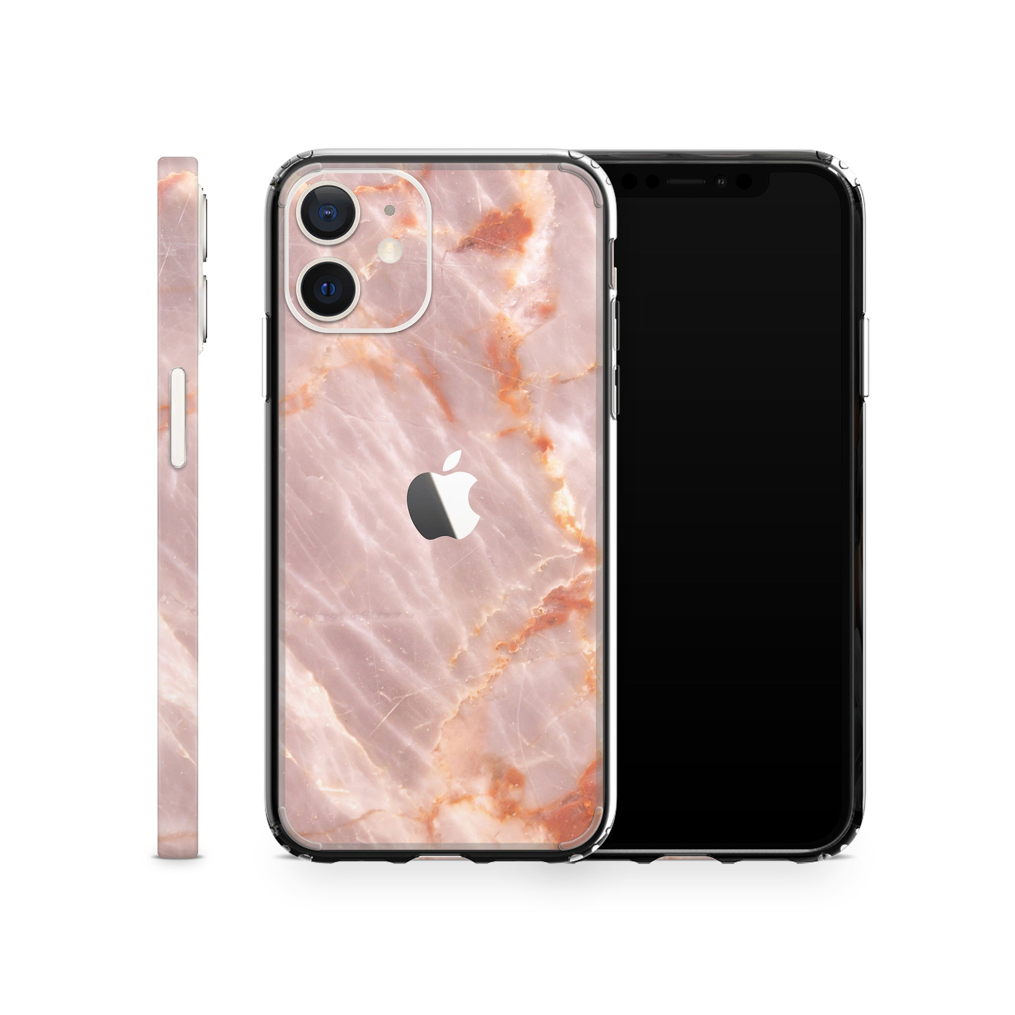 iPhone Case 12 Mini Blush Marble