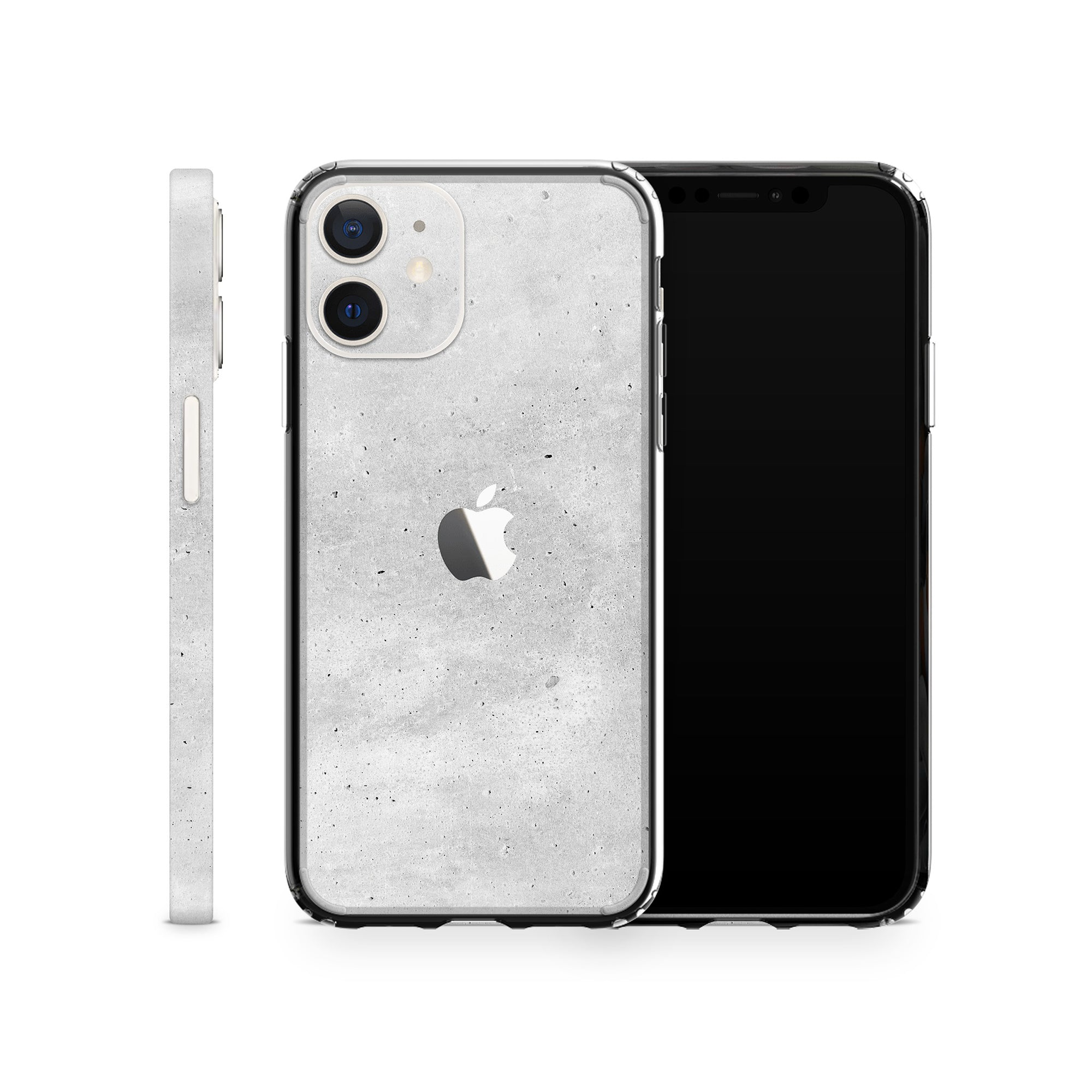 Concrete iPhone 12 Skin + Case