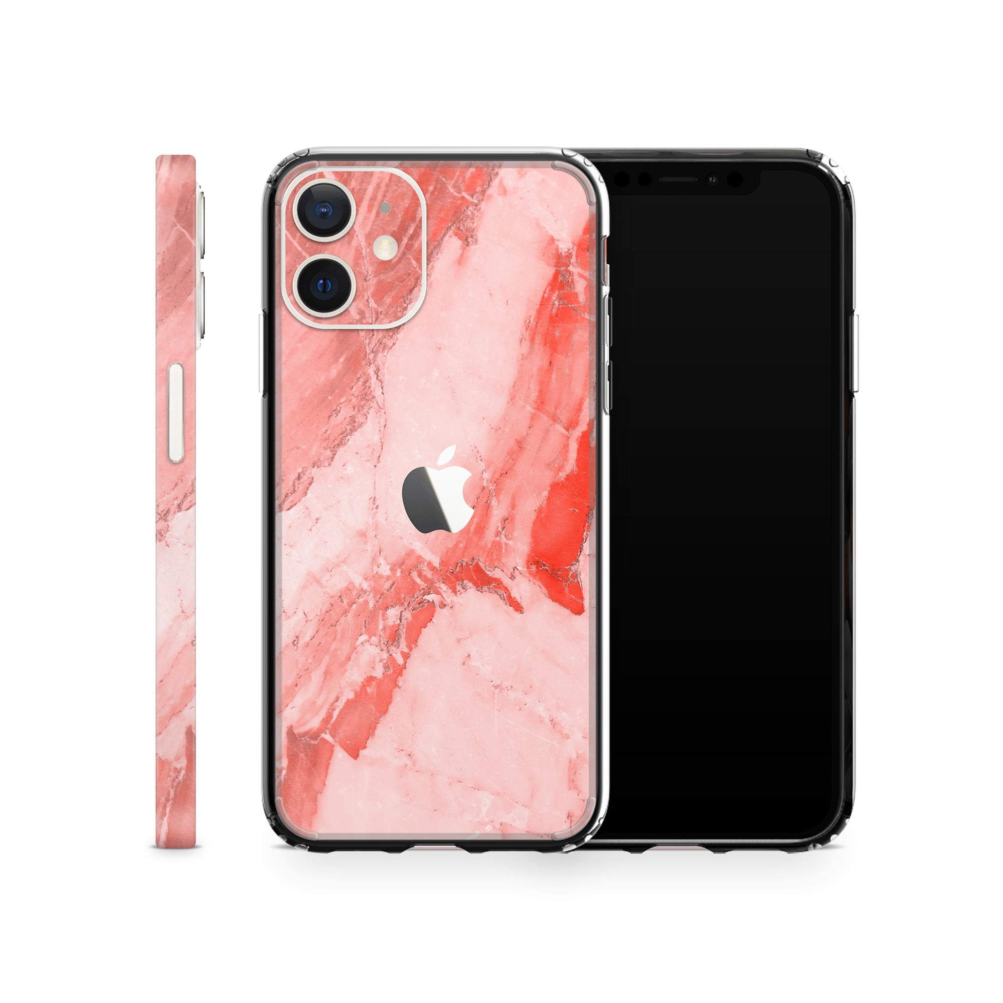 iPhone Case 12 Mini Coral Marble