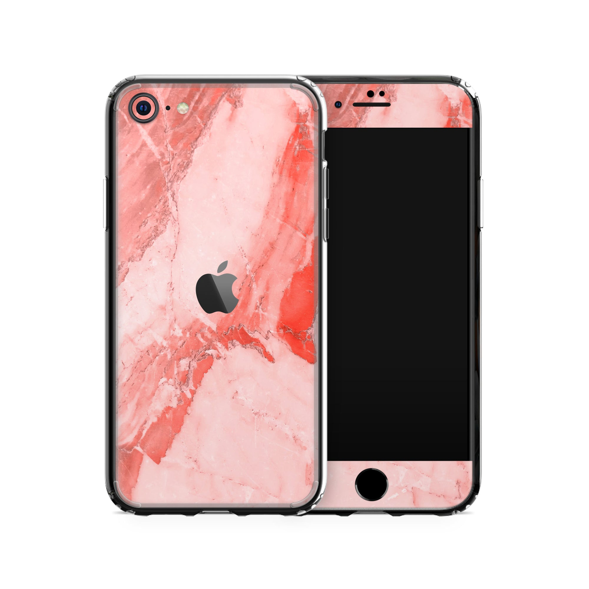 iPhone Case SE 2020 Coral Marble
