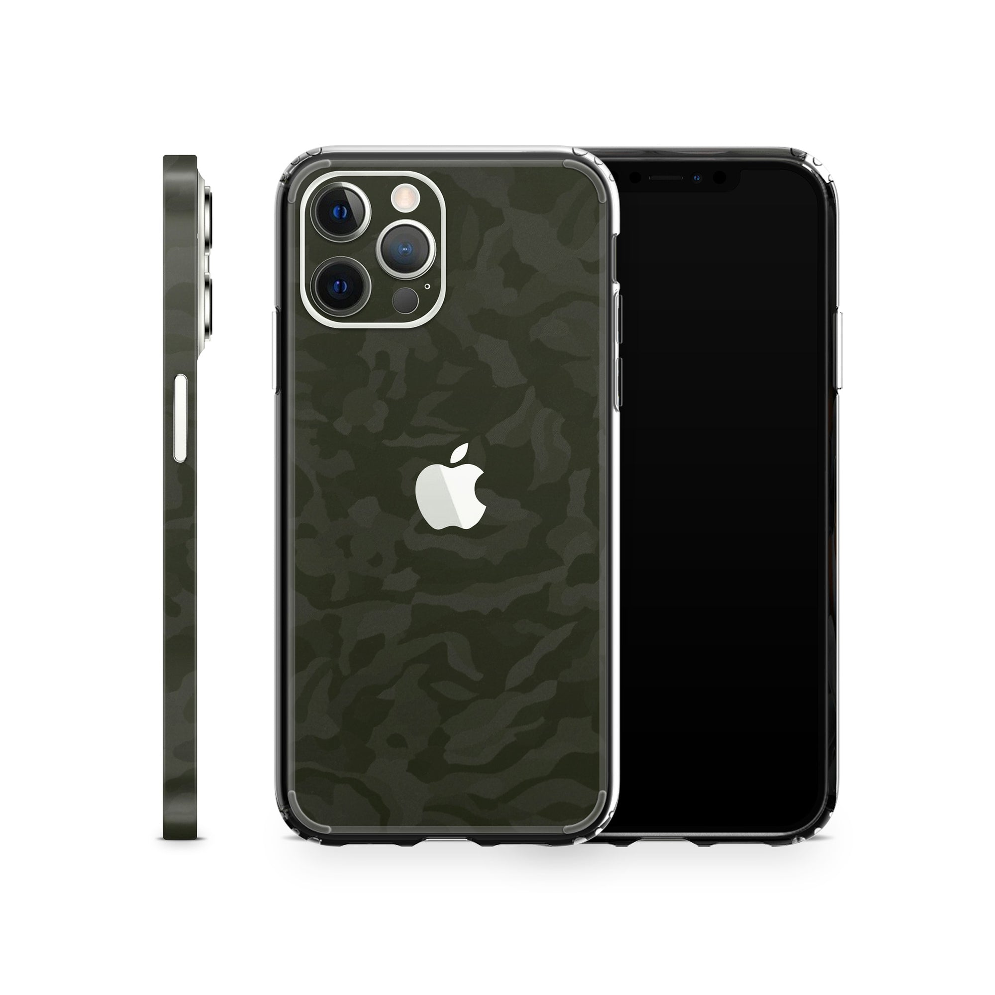 iPhone Case 12 Pro Green Camo