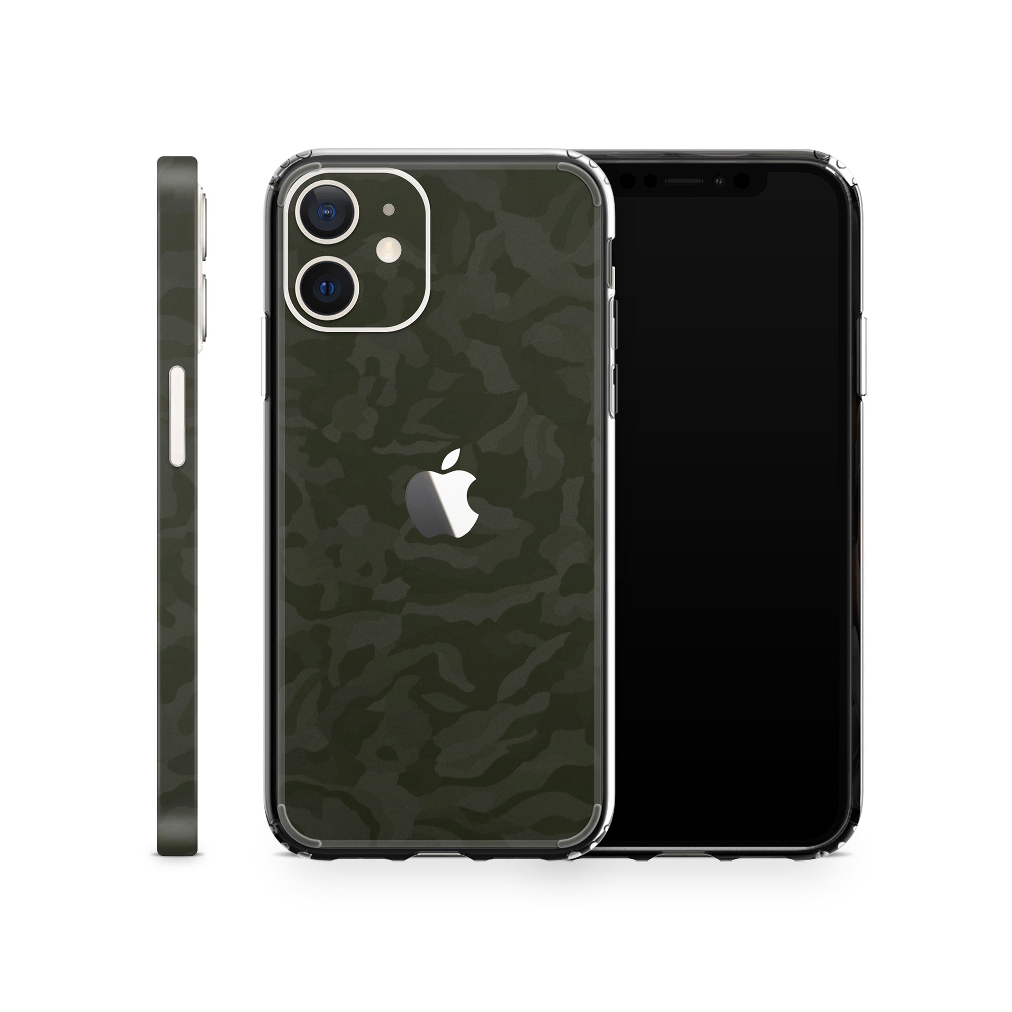 iPhone Case 12 Mini Green Camo