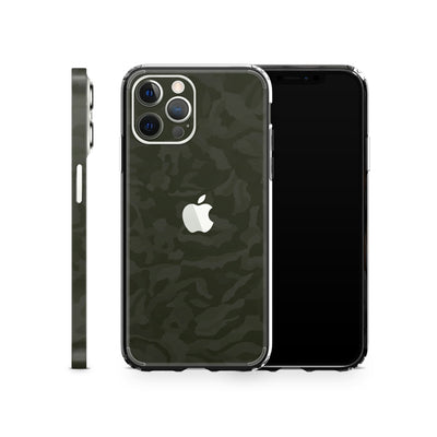 iPhone Case 12 Pro Max Green Camo