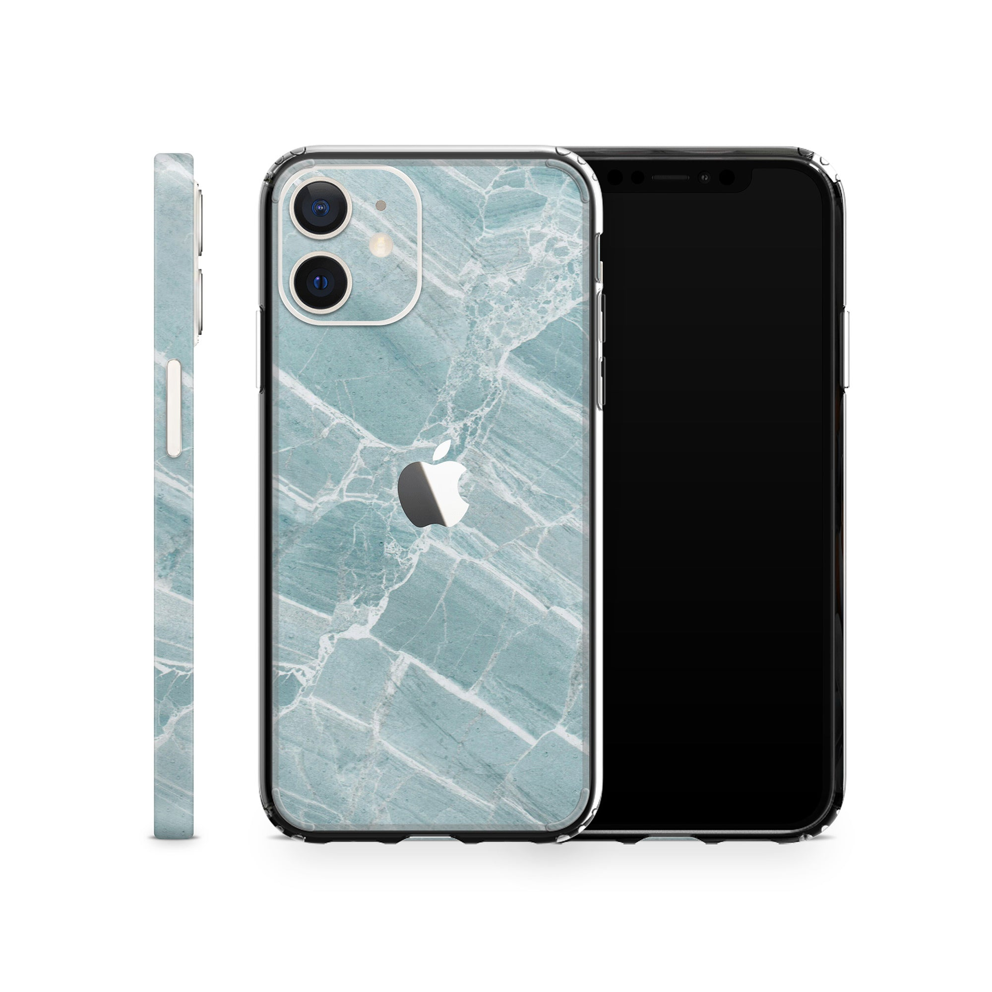 iPhone Case 12 Mini Mint Marble