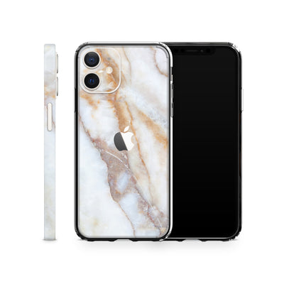 iPhone Case 12 Vanilla Marble