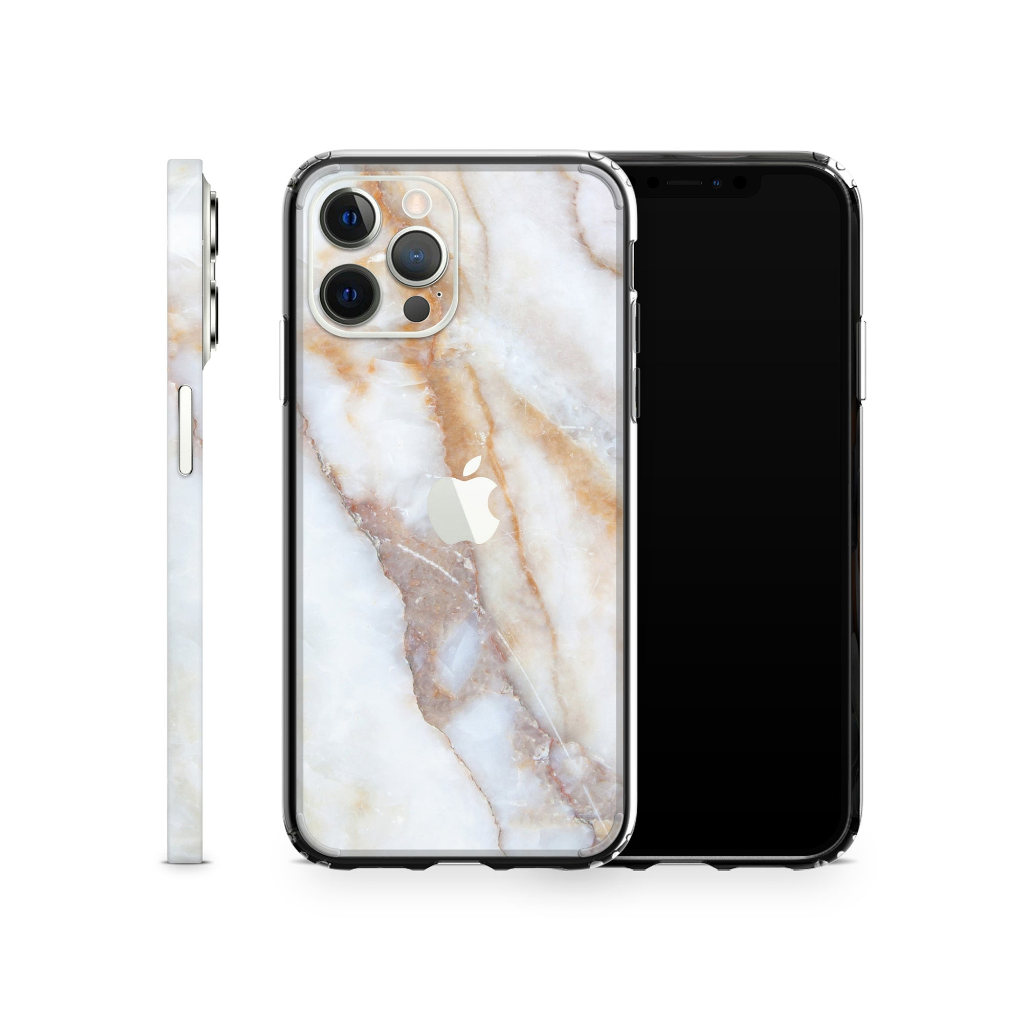 iPhone Case 12 Pro Vanilla Marble