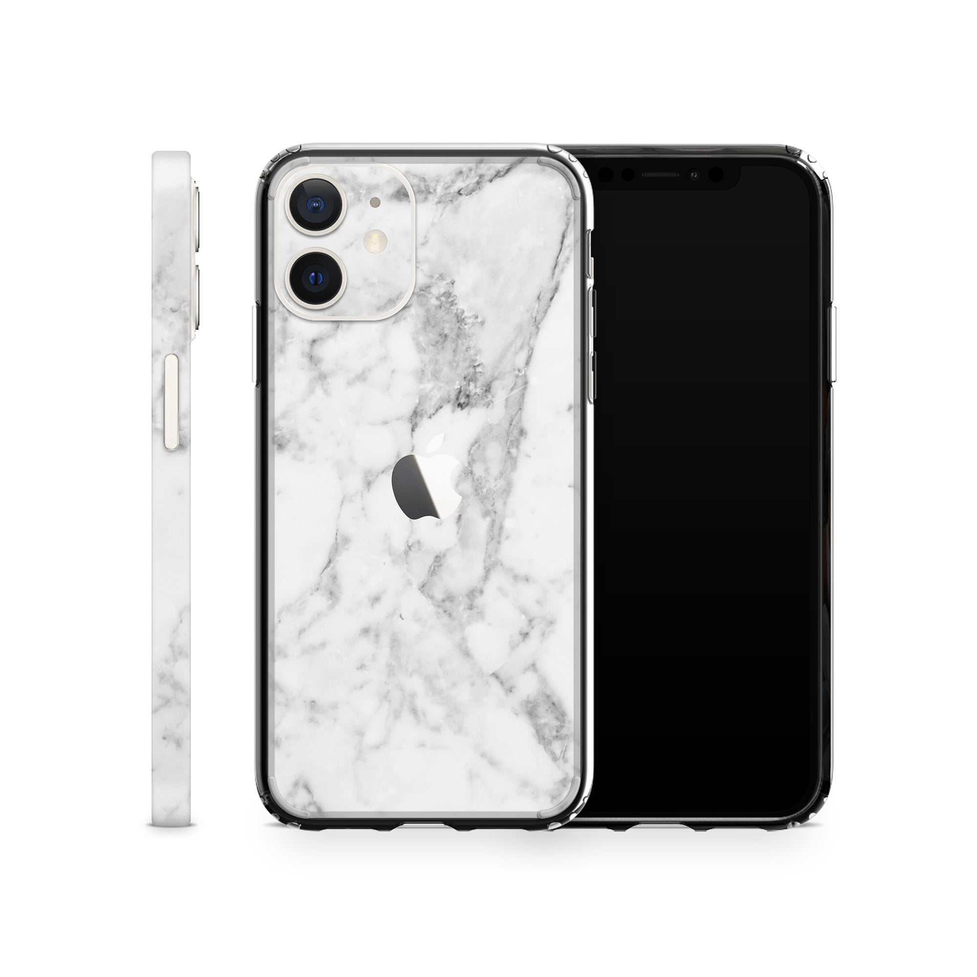 iPhone Case 12 Mini White Marble