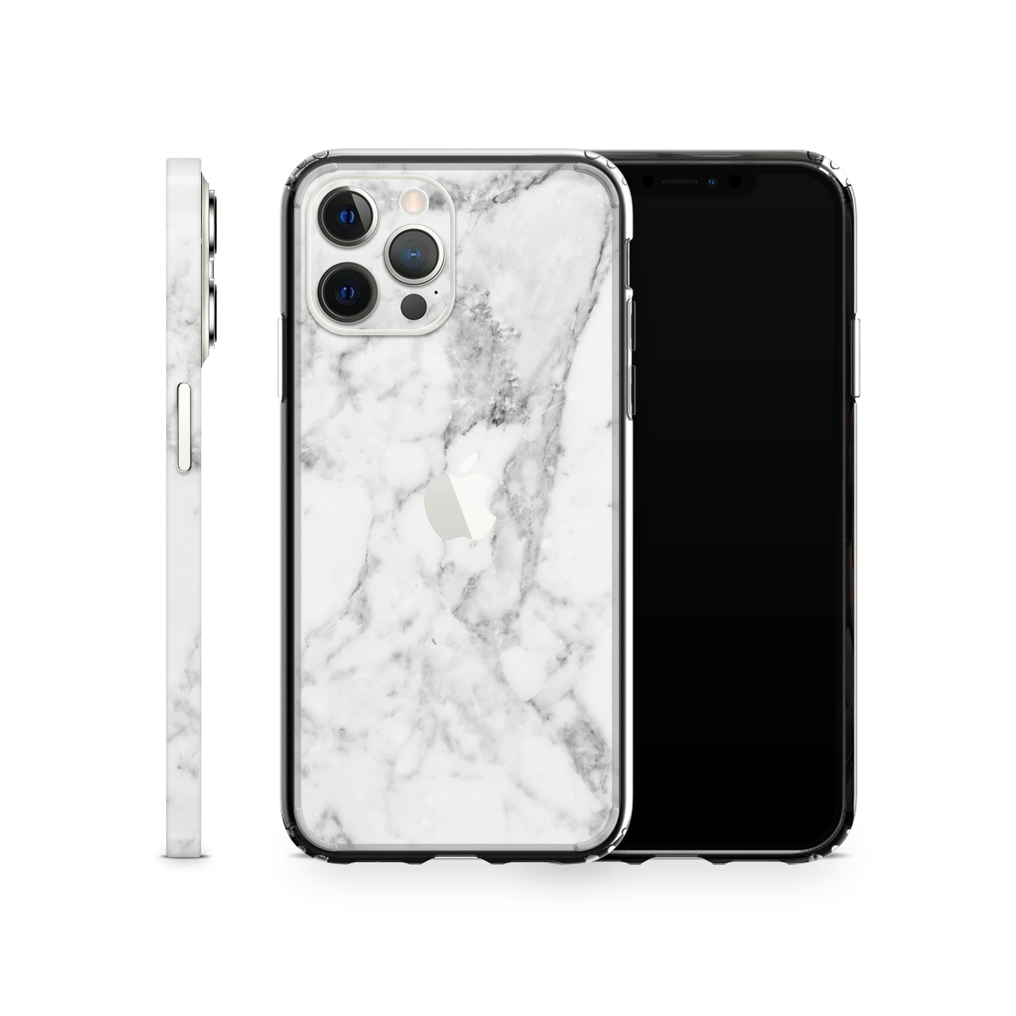 iPhone Case 12 Pro White Marble