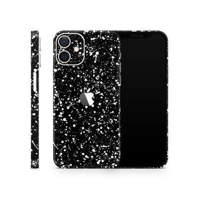 iPhone Case Skin 12 Black Speckle