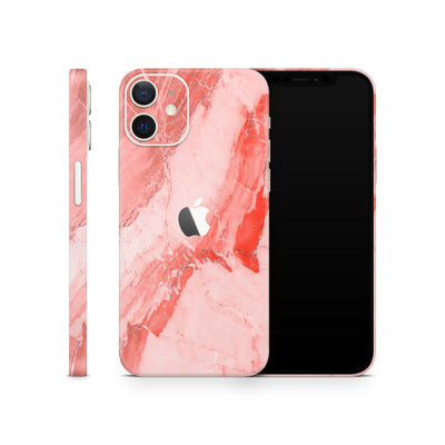 iPhone Case Skin 12 Coral Marble