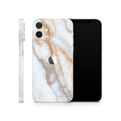 iPhone Case Skin 12 Vanilla Marble