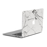 White Marble Cover for MacBook