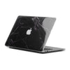 Black Hyper Marble MacBook 13-inch Skin + Case