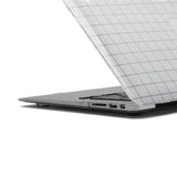 White Grid MacBook Protector