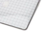 White Grid Laptop Skin