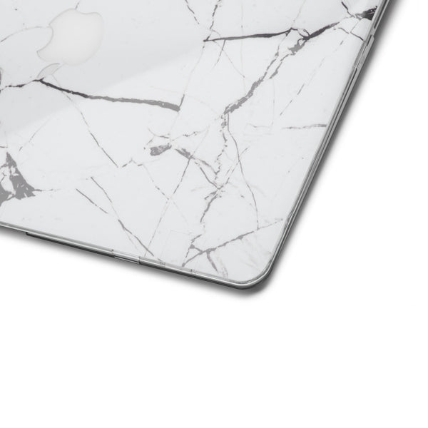 Hyper Marble MacBook Skin - White