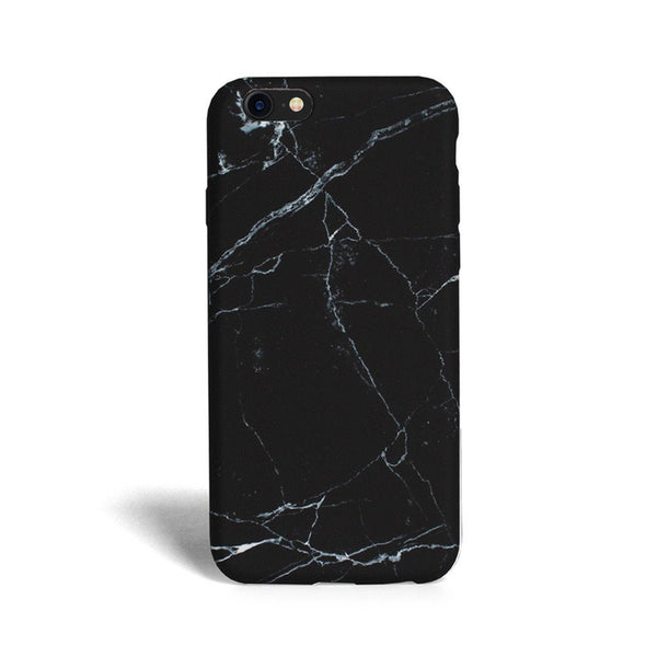 iPhone 7 Black Marble Case