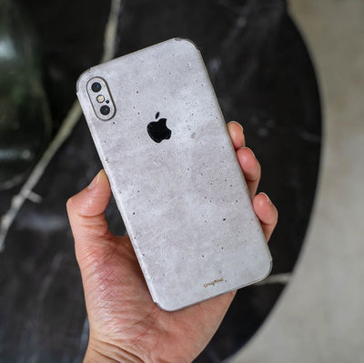 Concrete iPhone XR Skin + Case